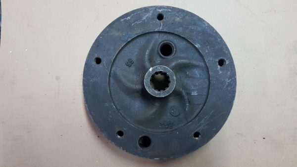 311501615 Brake drum, rear, pair