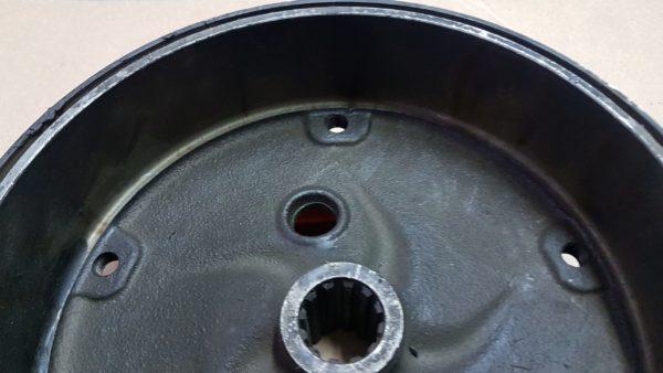 311501615D Brake drum, rear