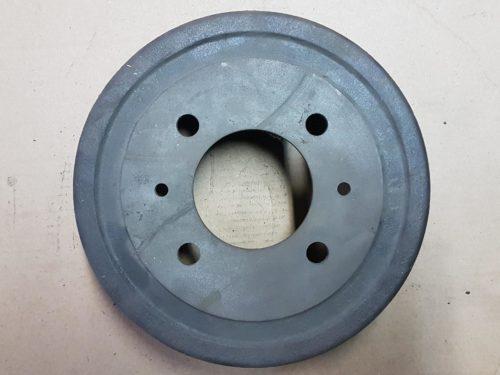 311501615F Brake drum, rear, pair