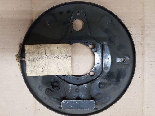311609439D Back plate, rear left