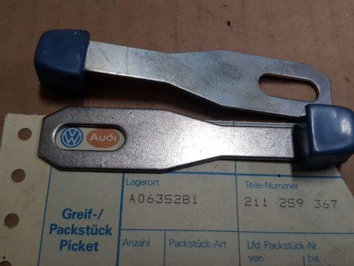 211259367 Fresh air lever, blue