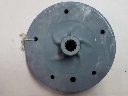 211501615B Brake drum, rear
