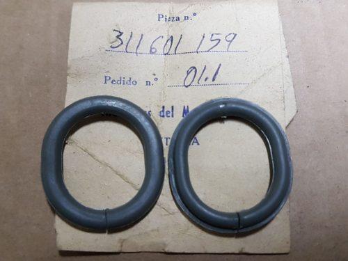 311601159 Grommet, valve hole in ring embellisher, set of 4
