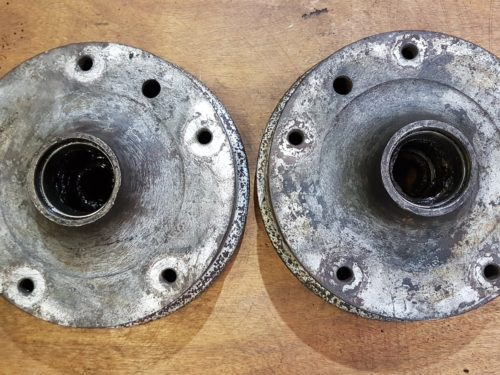 211405615AS Brake drum, front set