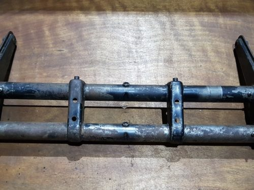 111401025 S Front axle beam, with torsion springs